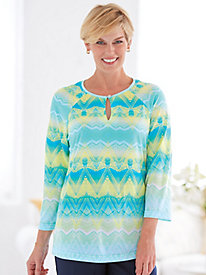 Knit Top By Koret®