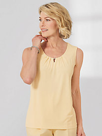 Sleeveless Carris Knit Top
