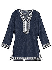 Seas the Day Tunic by Alfred Dunner®