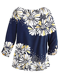 Seas the Day Daisy Tunic by Alfred Dunner®