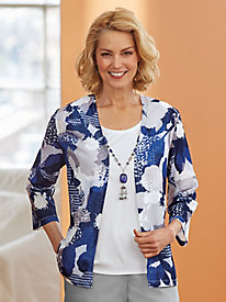 Classic 2-in-1 Top By Alfred Dunner®