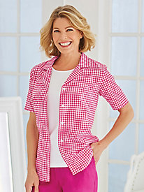 Gingham Shirt By Koret®
