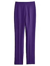 Flat Front Poplin Pants By Bend Over®
