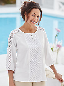 Lace Blouse By Koret®