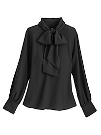 Bow Blouse By Sag Harbor®