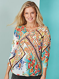 Fashion Fling Blouse By Isabel Hayley