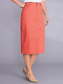 Jean Skirt by Bend Over®