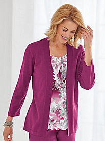 Veneto Valley 2-in-1 Sweater By Alfred Dunner®