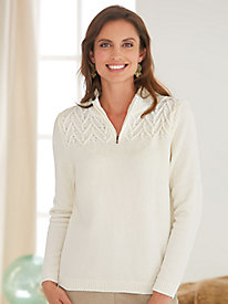 Classic Chenille Sweater By Alfred Dunner®