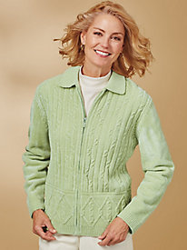 Classic Chenille Cardigan By Alfred Dunner®