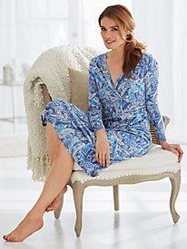 Surplice Knit Nightgown