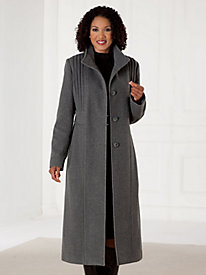 Refined Wool-Blend Coatby Mark Reed®