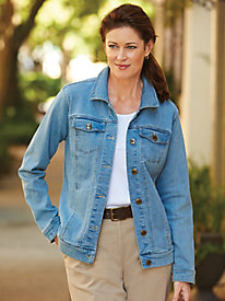 Stretch Jean Jacket