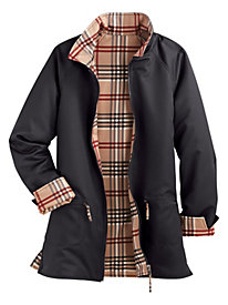Reversible Plaid Jacket By Koret�