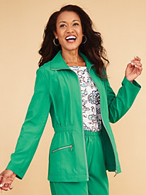 Stretch Separates Activewear Jacket By Koret�