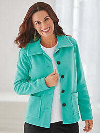 Hip-Length Double Faced Jacket by Serbin Sport®