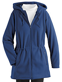 Double Faced Fleece Anorak Jacket by Serbin Sport®