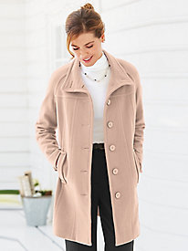 Wool-Blend Pants Coat by Mark Reed