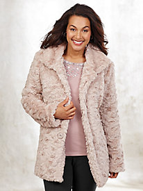 Faux Fur Coat By Serbin Sport®