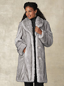 Faux Fur Coat By Regalia®