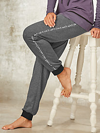 Embellished Jogger Pants By Regalia®