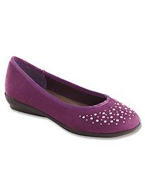 Sparkle Accent Ballerina Flats