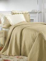 Portofino Matelasse Bedspread, Coverlet, Shams