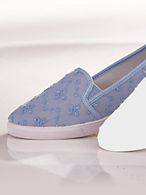 Twin Gore Eyelet Slip-Ons by Valley Lane®