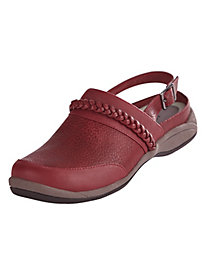 Nova Style Clog with Back Strap by Easy Street�