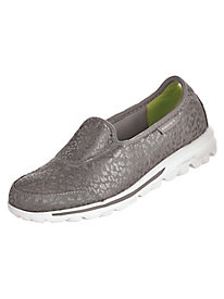 Animal Print Slip-Ons by Skechers�