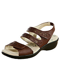 Keeley Style Leather Comfort Sandals by Propet�
