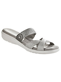 Finley Style Criss-Cross Slides by Grasshoppers�