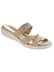 Finley Style Criss-Cross Slides by Grasshoppers®