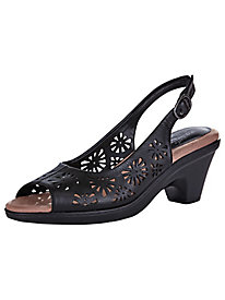 Kaley Style Cutwork Slingbacks by Easy Street�