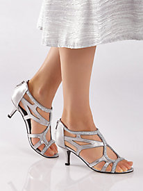 Flattery Style Rhinestone Sandals by Easy Street�