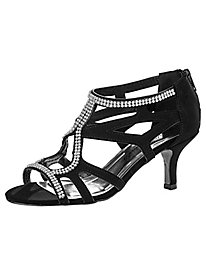 Flattery Style Rhinestone Sandals by Easy Street®
