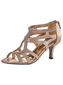 Flattery Style Rhinestone Sandals by Easy Street®