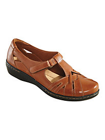 T-Strap Leather Casuals by Clarks�