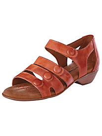 Gladiator Leather Sandals by Comfortiva®