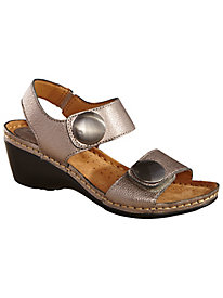 Pamela Style Leather Sandals by Soft Spots®