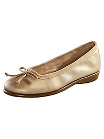Leather Ballerina Shoes By Aerosoles�