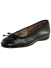 Leather Ballerina Shoes By Aerosoles®