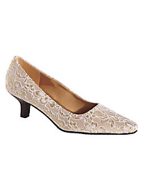 Angelica Lace Pump