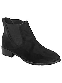 Scout Velour Ankle Boots by Propét