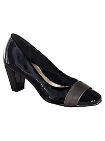 Overlay Pumps By Soft Style® A Hush Puppies® Co.