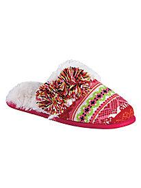 Sweater Knit Scuff Slippers By Dearfoams®