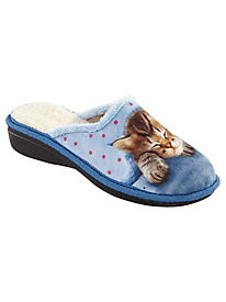 Purr Kitten Style Slippers Patrizia by Spring Step