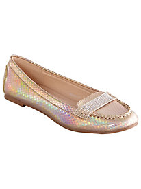 Shine Slip-Ons By Lady Couture®