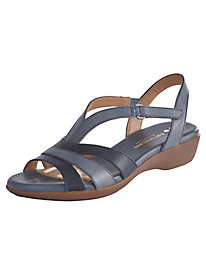 Neina Wishbone Leather Sandals By Naturalizer®