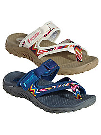 Reggae Adjustable Strap Sandals By Skechers®